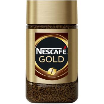 Nescafe Gold кофе растворимый сублимированный, банка 47,5гр (04837)