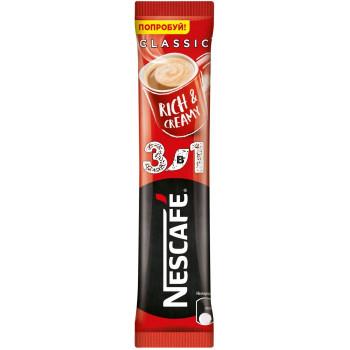 Nescafe Classic кофе растворимый 3в1, пакетик 13гр (95012)
