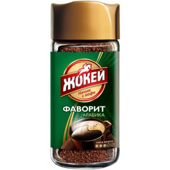Жокей Фаворит №3 кофе растворимый гранулированный, банка 95гр (12549)