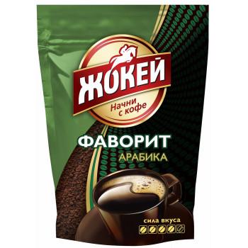 Жокей Фаворит Арабика кофе растворимый гранулированный, сашет 75гр (10118)