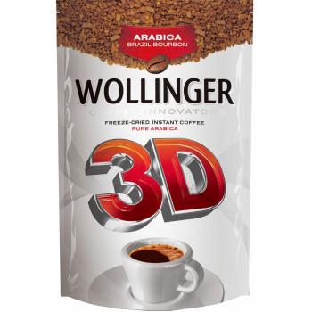 Wollinger 3D кофе растворимый сублимированный, сашет 95гр (83103)