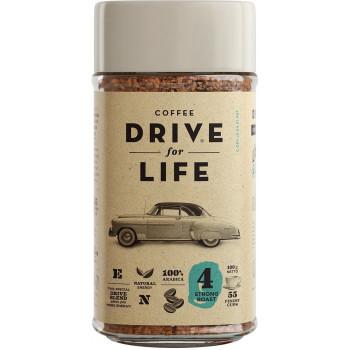 Drive for Life Strong кофе растворимый сублимированный, банка 100гр (33196)