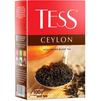 Tess Ceylon гранулированный чёрный чай, 100гр (06326)