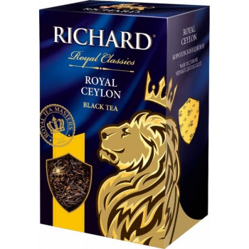 Richard Royal Ceylon листовой чёрный чай, 90гр (50054)