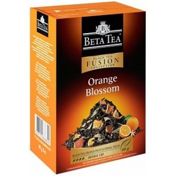Beta Tea листовой чёрный чай, апельсин и лепестки трав, 100гр (65807)