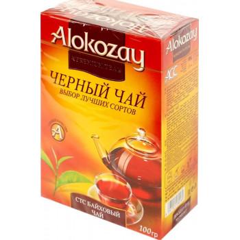 Alokozay гранулированный байховый чёрный чай, 100гр (30169)
