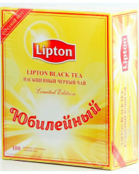 Lipton Yellow Label чёрный чай, в пакетиках, 100шт (01366)