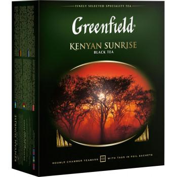 Greenfield Kenyan Sunrise чёрный чай, в пакетиках, 100шт (06005)