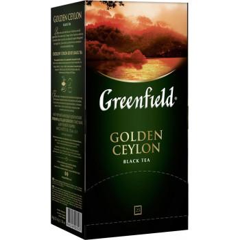 Greenfield Golden Ceylon чёрный чай, в пакетиках, 25шт (03523)