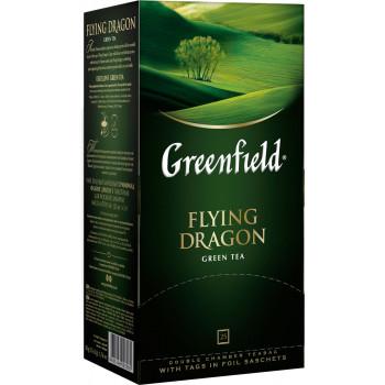 Greenfield Flying Dragon зелёный чай, в пакетиках, 25шт (03585)