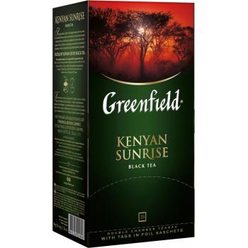 Greenfield Kenyan Sunrise чёрный чай, в пакетиках, 25шт (04896)
