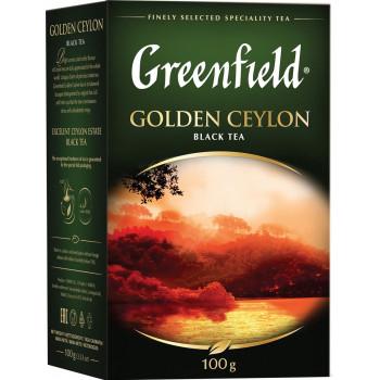 Greenfield Golden Ceylon чёрный чай листовой, 100гр (03516)