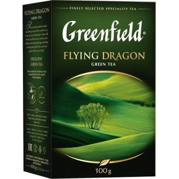 Greenfield Flying Dragon зелёный чай листовой, 100гр (03578)