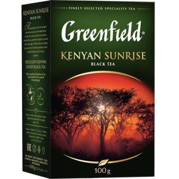 Greenfield Kenyan Sunrise чёрный чай листовой, 100гр (04872)