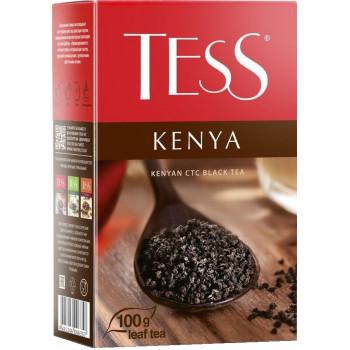 Tess Kenya гранулированный чёрный чай, 100гр (06357)