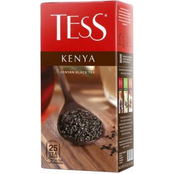 Tess Kenya чёрный чай, в пакетиках, 25шт (06340)