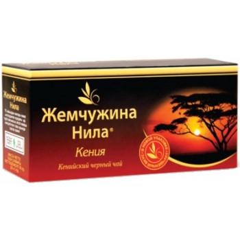 Жемчужина Нила Кения чёрный чай, в пакетиках, 25шт (03745)
