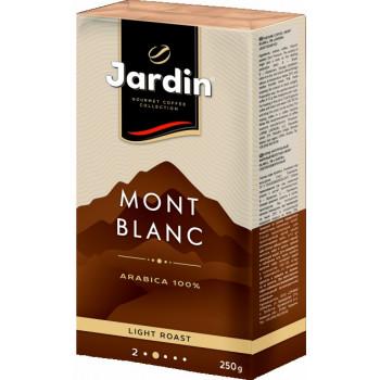 Jardin Mont Blanc кофе молотый жаренный, вакуумная упаковка 250гр (13386)