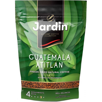 Jardin Guatemala Atitlan кофе растворимый сублимированный, сашет 75гр (10156)