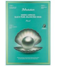 JMsolution Marine Luminous Black Pearl Balancing Mask 3-х шаговый набор для сияния кожи, 1шт (43904)