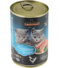 Leonardo корм для котят, с птицей, 400гр (56244)