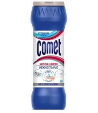 Comet чистящий порошок, Утреняя роса, без хлоринола 475гр (29286)