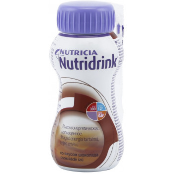 Nutridrink смесь, шоколад, 200мл (54711)
