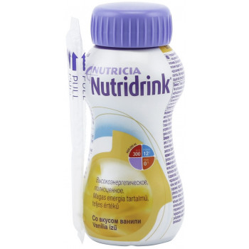 Nutridrink смесь, ваниль, 200мл (54797)