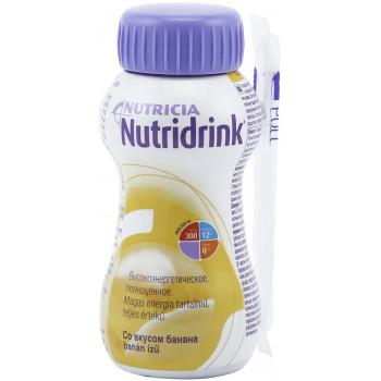Nutridrink смесь, банан, 200мл (54698)
