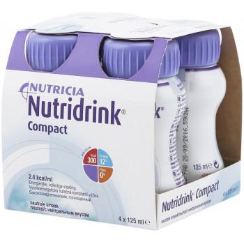 Nutridrink компакт протеин, нейтральный, 4шт*125мл (76201)