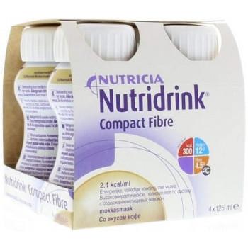 Nutridrink компакт с пищевыми волокнами, кофе, 4шт*125мл (52298)