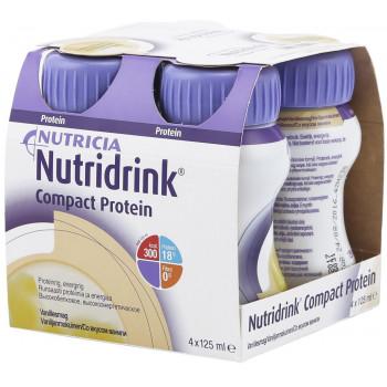 Nutridrink компакт протеин, персик-манго, 4шт*125мл (69500)