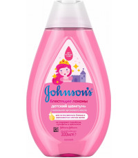 Johnsons baby детский шампунь, блестящие локоны, 300мл (07279)