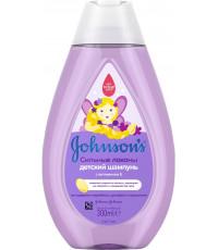Johnsons baby детский шампунь, сильные локоны, 300мл (27973)