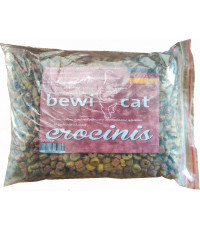 Bewi cat crocinis сухой корм для привередливых кошек, с птицей, индейкой и рыбой, фасованный, 1кг (51720-)