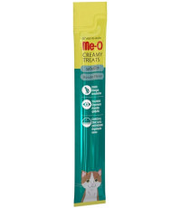 Me-O кремовое лакомство для кошек, с атлантической пеламидой, 1шт, 15гр (12776)