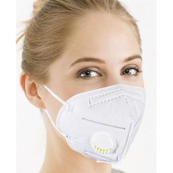 Респиратор  KN95 FFP2 с клапаном, 95% защиты от вирусов (34361)