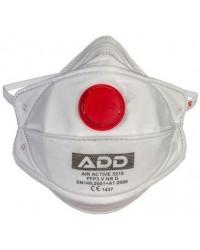 Респиратор FFP3 с клапаном,  3 уровень, 99% защиты от вирусов (05880)