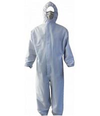 Защитный противочумный костюм, многоразовый, из полиэфирной ткани, 1шт (34689)