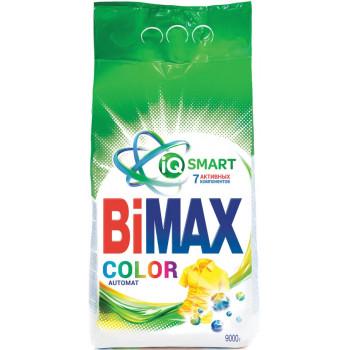 BiMax Color стиральный порошок автомат, для цветного белья, 9кг (96602)