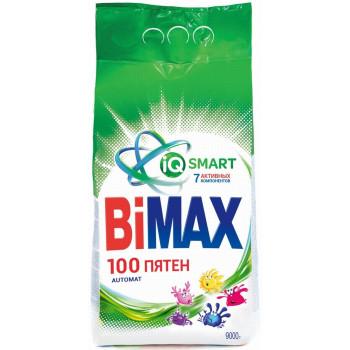 BiMax 100 Пятен стиральный порошок автомат, универсальный, 9кг (96619)