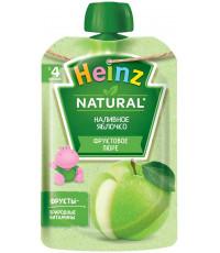 Heinz Natural пюре сашет, наливное яблочко, с 4 месяцев, 100гр (03088)