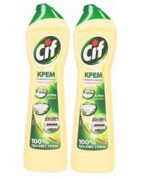 Cif Универсальный чистящий крем, Лимон, выгодный набор, 2шт*500мл (75841+)