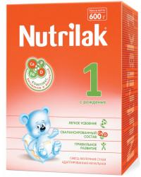 Nutrilak сухая молочная смесь c рождения #1, 600гр (20700)
