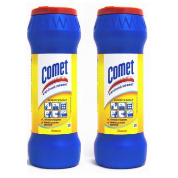Comet чистящий порошок, выгодный набор, 2шт*475гр (83807)