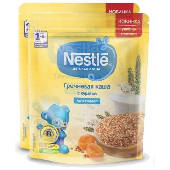 Nestle молочная каша гречневая с курагой, с 5 месяцев, выгодный набор, 2шт, 440гр (00430)