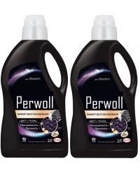Perwoll средство для стирки, для черных, выгодный набор, 2шт, 4л (10006)
