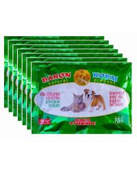 BaronKorm корм для собак и кошек, мясо-овощные консервы, выгодный набор, 7шт*500гр (90044)