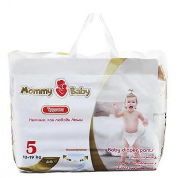 Mommy Baby трусики #5, 12-19 кг, 40шт (59060)