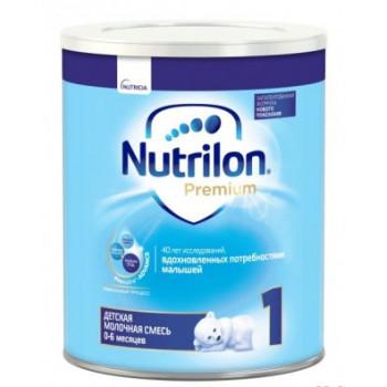 Nutrilon Premium молочная смесь #1, с рождения, 400гр (40443)